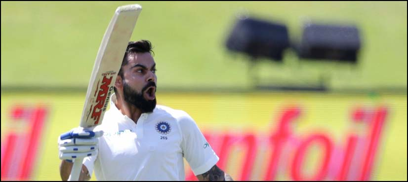 Kohli expresses interest in playing county cricket