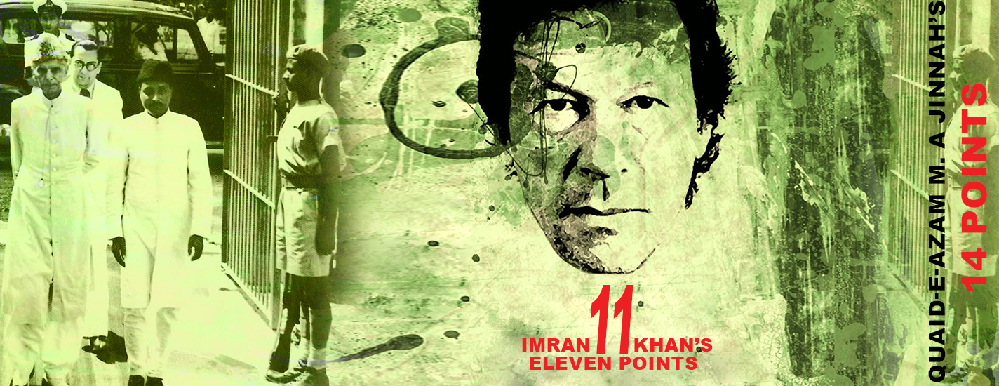 IK's 11 points vs Quaid's 14 points: Do we really need a Naya Pakistan?