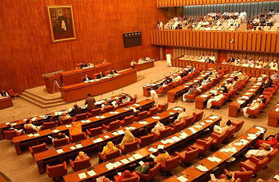 The Senate adopts four resolutions unanimously