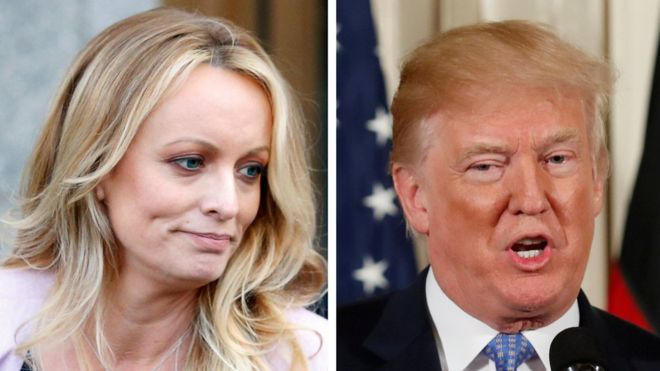 Case Stormy Daniels: Trump reveals that he reimbursed $ 100,000 to the lawyer who paid the porn actress