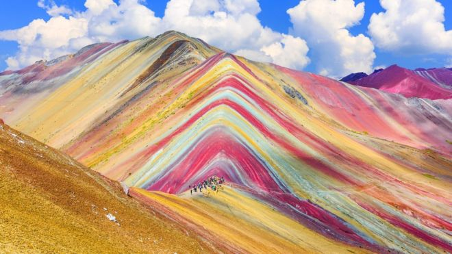 Vinicunca: how to explain the beauty of the mountain of seven colors that attracts thousands of tourists in Peru