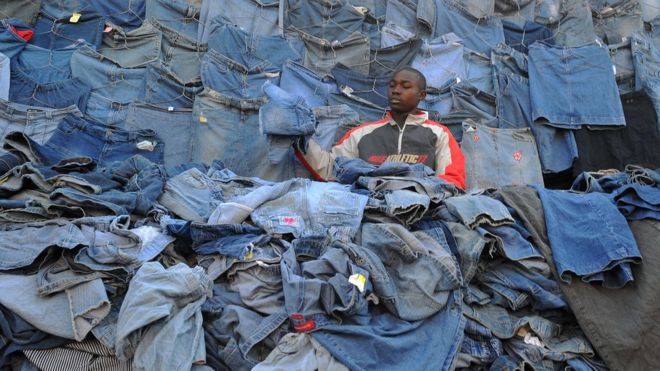 Rwanda does not want used clothing from United States of America