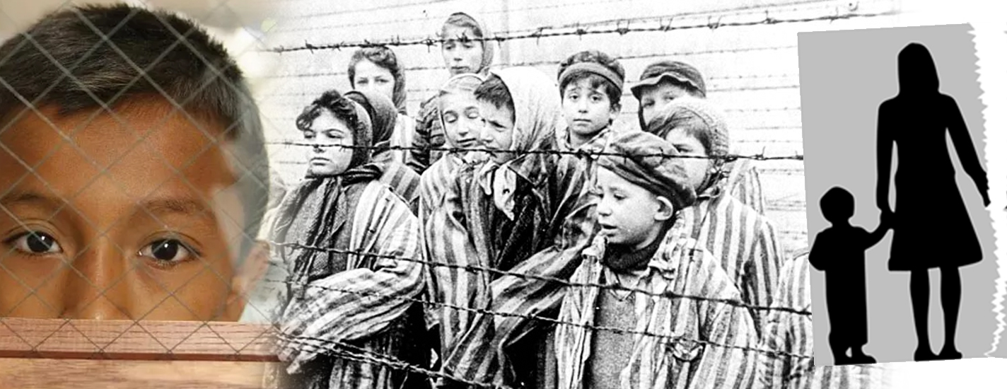 Separation of families at border: Children's Concentration Camp in the U.S.A