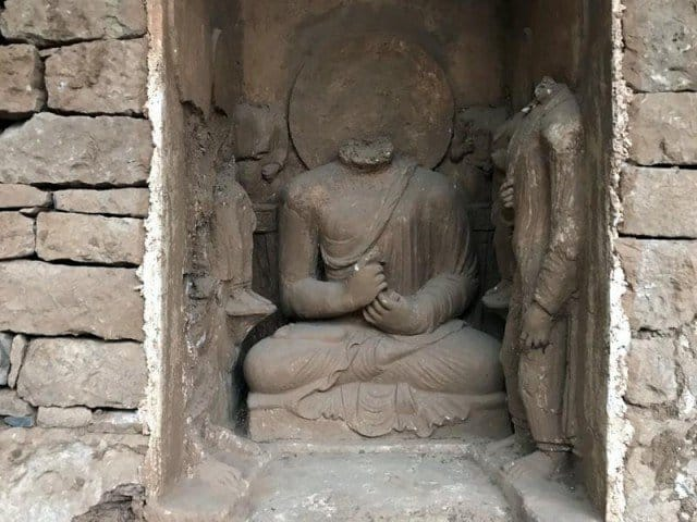 Pakistan welcomes Buddha's relics
