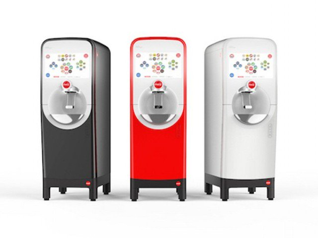 Coca-Cola's new tech allows you to blend flavors