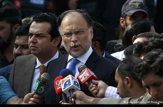 Ahsan Iqbal survives armed attack