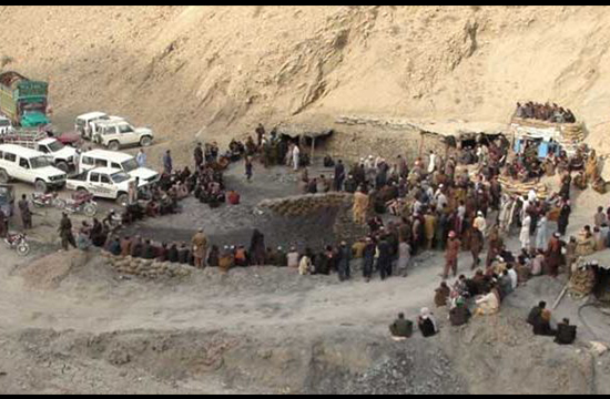 Sixteen killed in coal mine collapse near Quetta
