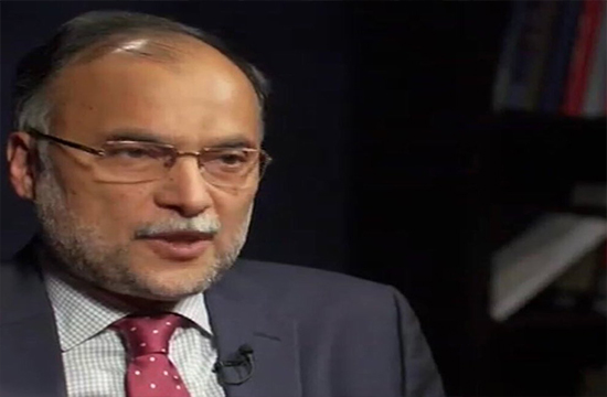 Interior Minister Ahsan Iqbal's health appears to be radically improving