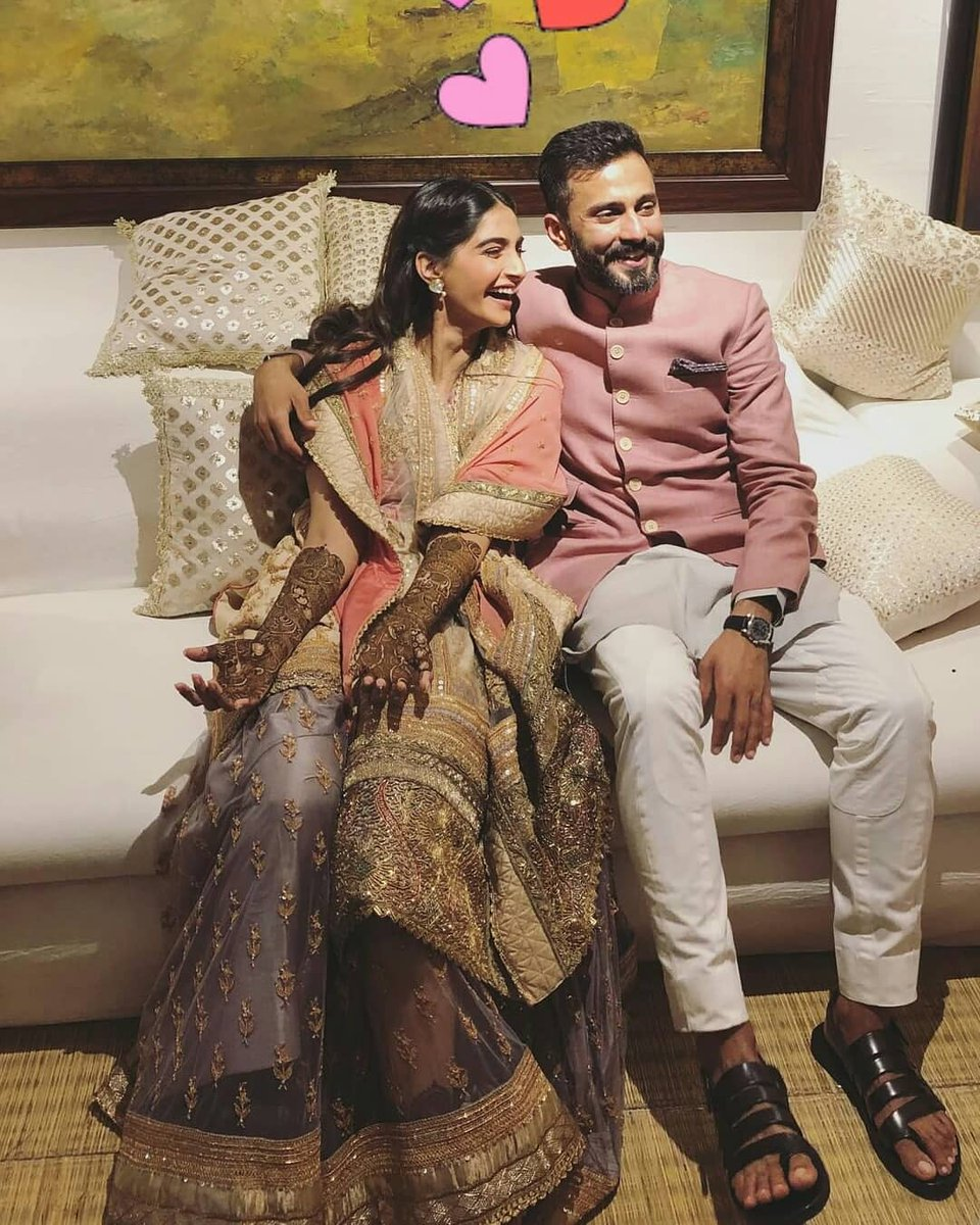 Sonam Kapoor's Wedding Celebrations Start with Full Swing!
