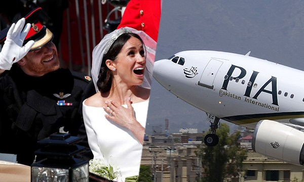 PIA gets roasted upon inviting Prince Harry & Meghan Markle to Pakistan