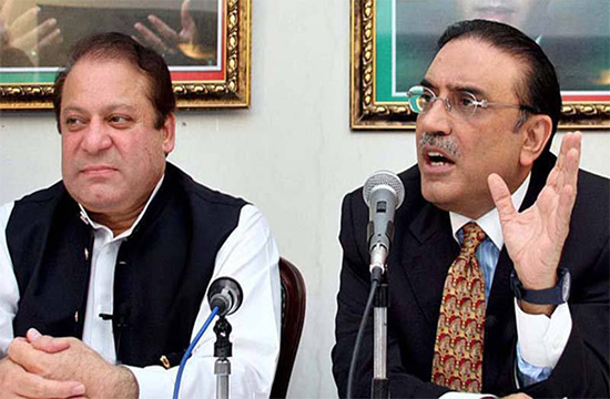 Nawaz and Zardari get into a war of words