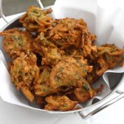 Flourless quick mix crispy pakoray