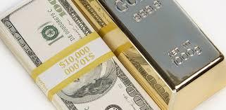 Gold gains as dollar slips