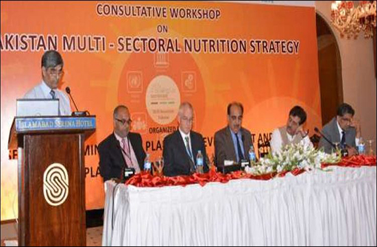 Pakistan's multi-sectoral nutrition strategy to be launched on 16th May for the year 2018-2025