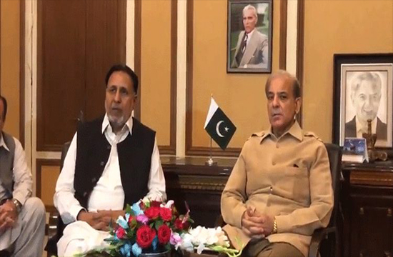 CM Shehbaz Sharif announces the nomination of  Nasir Saeed Khosa as Punjab's caretaker chief minister