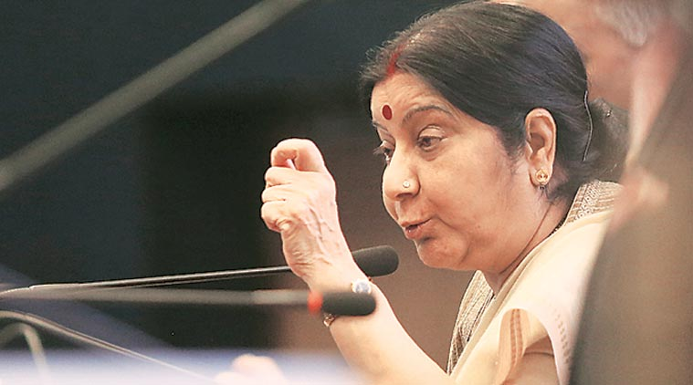 People dying on border, terror and talks can't go together: Sushma Swaraj on dialogue with Pakistan