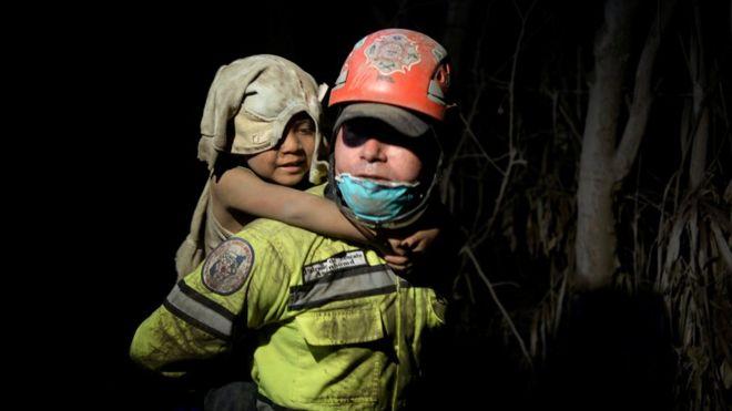 99 people die of volcanic eruption in Guatemala