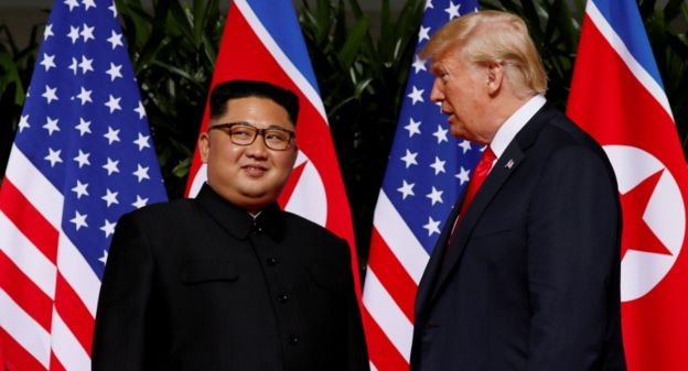 "The denuclearization ""will begin very, very fast"": Trump's announcement with which concluded the summit with Kim Jong-un in Singapore"