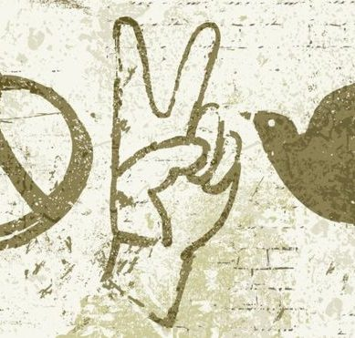 Where does the symbol of peace come from?