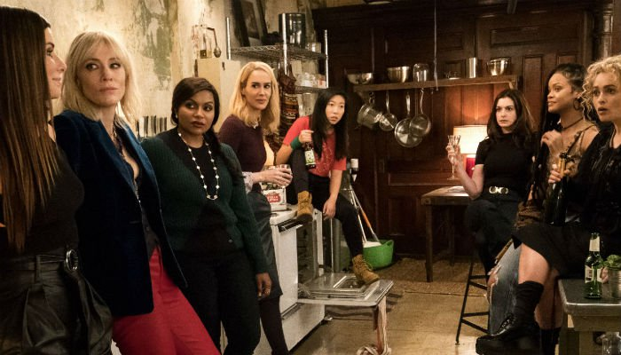 The women of 'Ocean's 8' steal a big lead at the box office