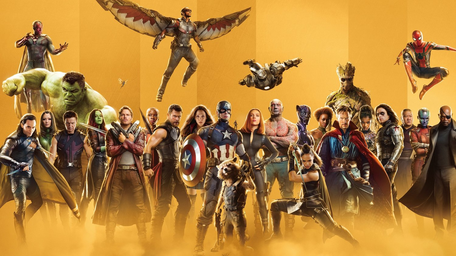 Marvel Cinematic Universe (MCU) celebrates 10th anniversary by releasing a series of 33 posters.