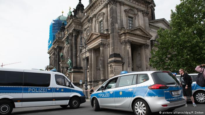 Two wounded in Berlin cathedral shooting