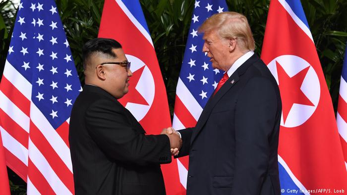 Historic summit between Trump and Kim started with handshake in Singapore