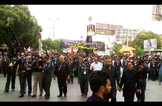 Youm-e-Ali being observed today amid heightened security