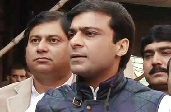 FIR lodged against Hamza Shehbaz
