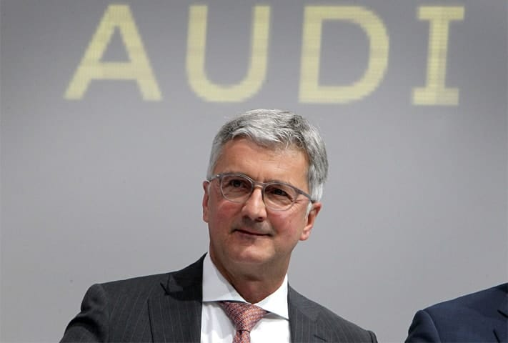 Chief Executive of AUDI, Rupert Stadler alleged for dieselgate attempt
