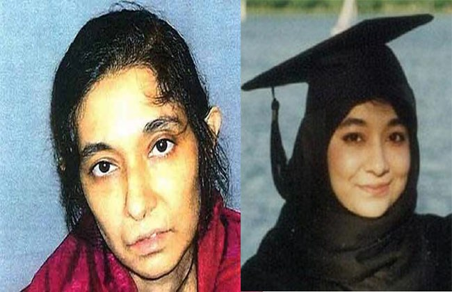 Dr. Aafia complains and sulks about mistreatment by The US authorities