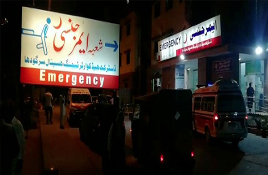 Road accident in Sargodha kills 4 as vehicles collide