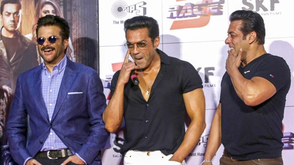 """Revival of career demanded """"shirt utarega?"""" to be answered in the affirmative, Bobby Deol inspired by Salman Khan"""