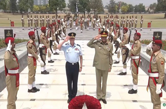 Australian Chief Marshal Mark Binskin acknowledges Pakistan Army efforts against terrorism