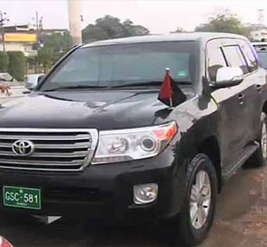 Sharmila Faruqui and other ex-officials of Sindh government fail to return official vehicles