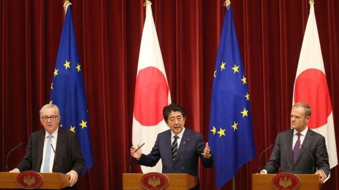 Trade agreement between the European Union and Japan: 3 keys to understanding why this pact is so important (and the message it sends to Donald Trump)