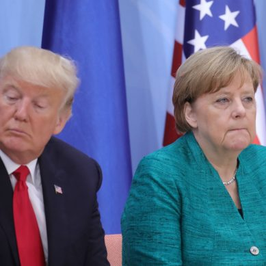 """""""It takes two for whatever you do, don't steer car tariff into a 'real trade war',"""" Merkel warns Trump"""