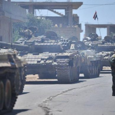 Asad gains ground with his offensive in southern Syria