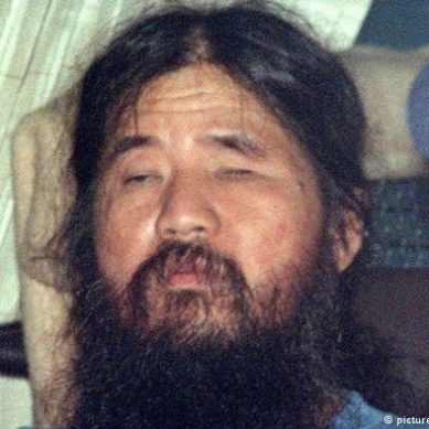 Japan: executed sect founder and attack brain in Tokyo subway