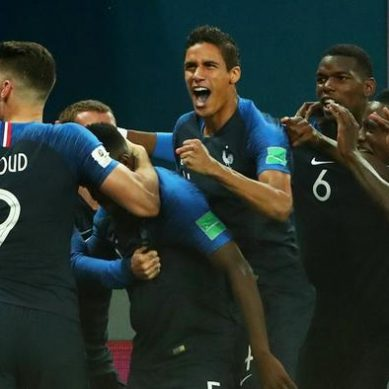 France beat Belgium 1-0 and qualify for the World Cup final