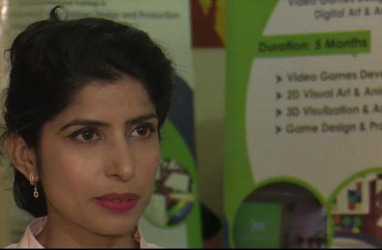 Pakistan female game designer on a mission for change