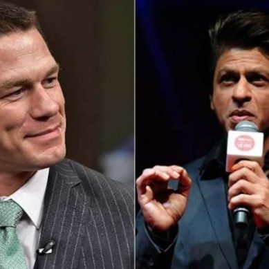 SRK becomes an inspiration for WWE superstar John Cena
