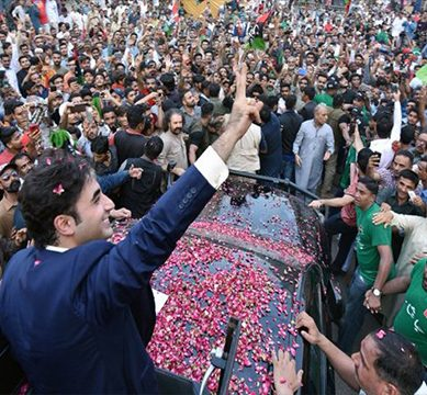 """Help us win, so we can resolve your issues"", assures PPP chairperson, Bilawal Bhutto, ahead of elections"