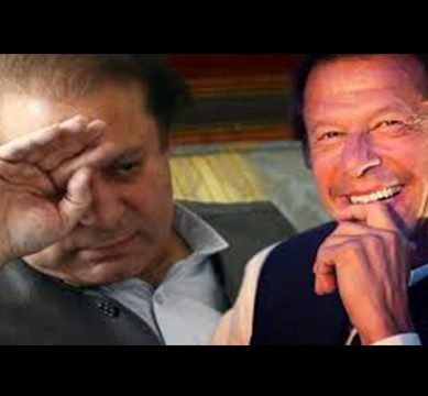 Imran Khan continues to struggle against corruption, shares views regarding the uncalled arrest of the Nawaz duo