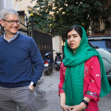 Apple funds Malala Foundation to assist academics in Latin America