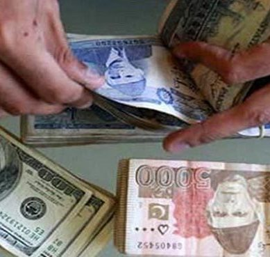 Pakistani rupee surges by 4.3%, while dollar hits Rs.122.5