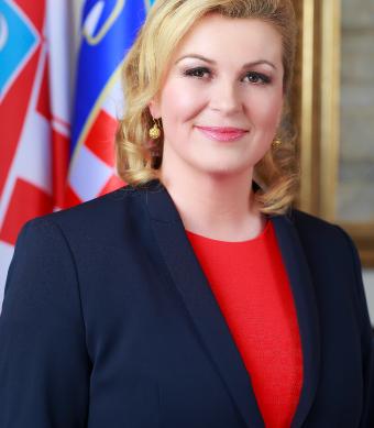 "Kolinda Grabar-Kitarovic, the popular president ""fan"" of Croatia who is accused of defending xenophobic policies"
