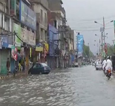 Rain in Lahore claims life of 6 due to electrocution and road accidents