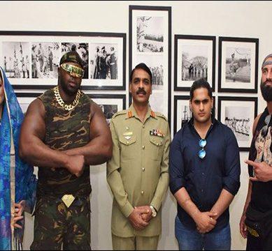 International wrestlers arrive Pakistan for the Season 2018 International Wrestling event