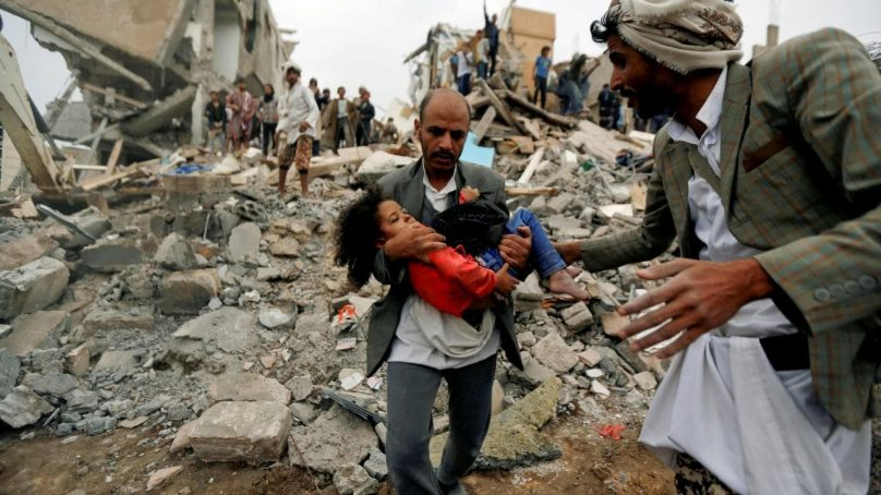 The UN points to possible war crimes in Yemen